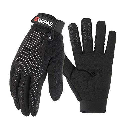 MMSY Outdoor Motorradhandschuhe Rennen/Skifahren/Klettern/Radfahren/Reiten Sport Winddichte Motocross-Handschuhe (Color : O QZ1B, Size : M) -