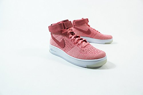 Nike W Af1 Flyknit, Scarpe sportive Donna BRIGHT MELON/BRIGHT MELON-