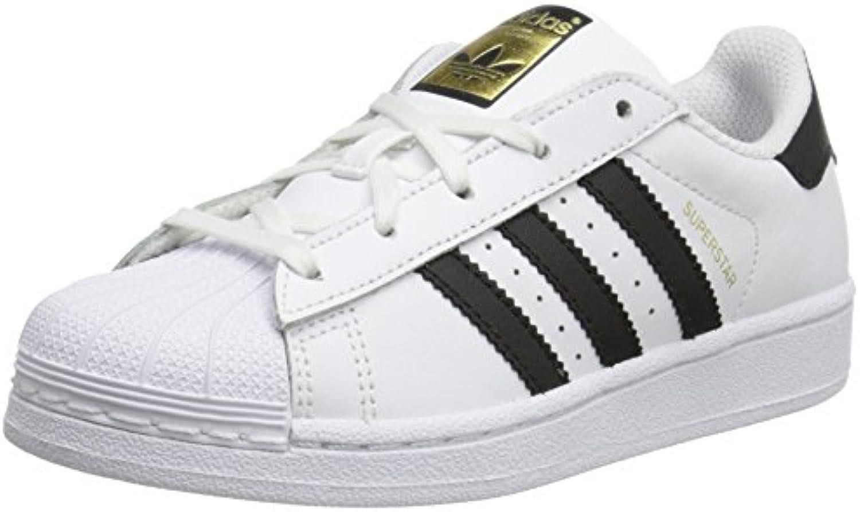 adidas superstar Blanc royaume  noirs formateurs enfants 13,5 royaume Blanc - uni 55ac7f