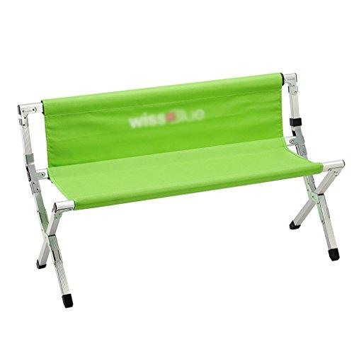 Y HWZDY Camping klappstuhl Camping Stuhl/Outdoor Klappstuhl, Angeln Freizeit Stuhl, Atmungsaktive Feste Portable Beach Chair, (Farbe : Green)