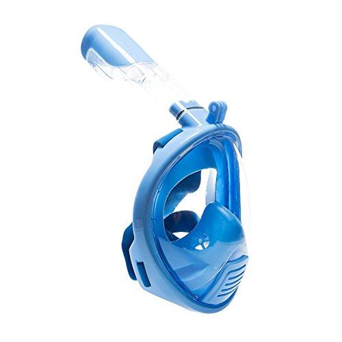 Kinder Tauschmask und Schnorchelmaske XS verschiedene Farben (Blau)