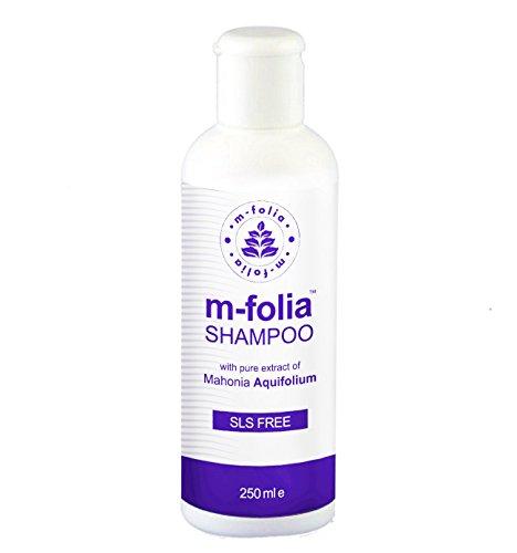 Kohle-teer Shampoo (M-Folia Psoriasis-Behandlung Shampoo mit reinem Extrakt Mahonia Aquifolium)