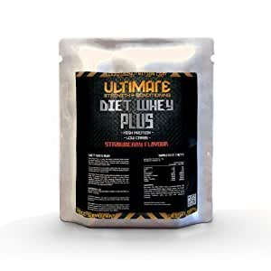 USC Strawberry Diet Whey Plus Protein - USN - PHD - Maximuscle - BSN - Shake - Fuel - Ultralean