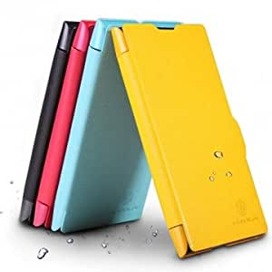 NILLKIN Ultrathin PU Leather Protective Case For Nokia Lumia 1020 @ Color==Red