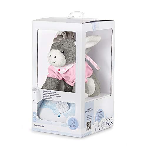 Sterntaler Chilling Box Emmi Girl (DE 34407560), Digitale Spieluhr, Inkl. Bluetooth-Lautsprecher und USB-Kabel, Alter: Babys ab der Geburt, 20x20x8 cm, Rosa -