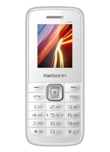 Karbonn K105s (White)