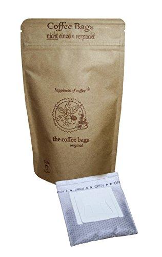 Life is You! - Bio-Hochlandkaffee aus den Terrassen-Plantagen an den Hängen der Anden in Peru, handverlesen gepflückt, in 15 coffee bags - für Becher - 15x10 GR - nicht einzeln verpackt (ohne Sachets), handgebrühter Bio-Kaffee, DE-ÖKO-003