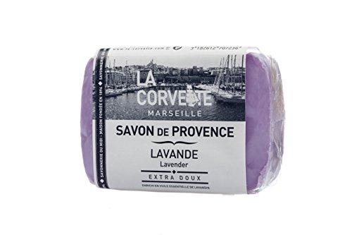 La Corvette Marseille Handseife Savon de Provence 200 g (Lavendel)