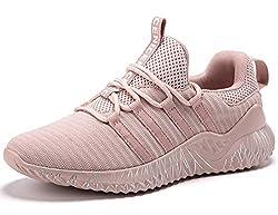 SINOES Damen Sportschuhe Air-Dämpfung Laufschuhe Turnschuhe Sneaker