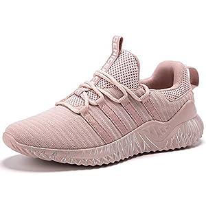 SINOES Schuhe Herren Damen Laufschuhe Gym Freizeitschuhe Sportschuhe Sneaker Atmungsaktive Turnschuhe Wanderschuhe Ultra-Light Mesh Running Wanderschuhe Outdoorschuhe