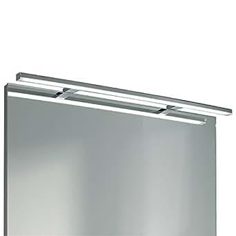 EBIR - Luce LED specchio bagno Esther S3 in alluminio, L800mm - 12W - 1128lumen - 5700°K