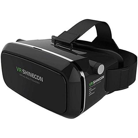 Koly SHINECON realidad virtual inmersiva vasos auriculares para 3D Videos Juegos Películas