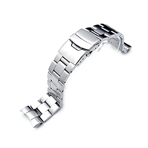 22mm Super Oyster Watch Bracelet for SEIKO SNZF17 Sea Urchin,