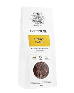 Samova Orange Safari de recharges de Rooibos Bio 100g, pack de 1(1x 100g)