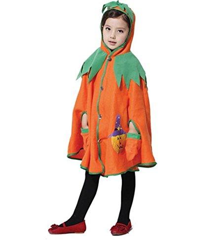 Di&Mi Baby Kinder Unisex Kürbis Kostüm für Halloween (Small)