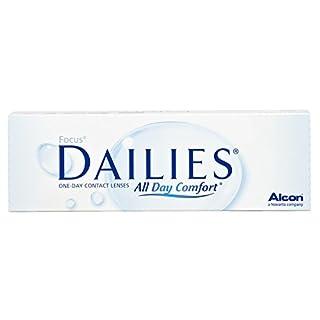 Focus Dailies All Day Comfort Tageslinsen weich, 30 Stück / BC 8.6 mm / DIA 13.8 / -5 Dioptrien