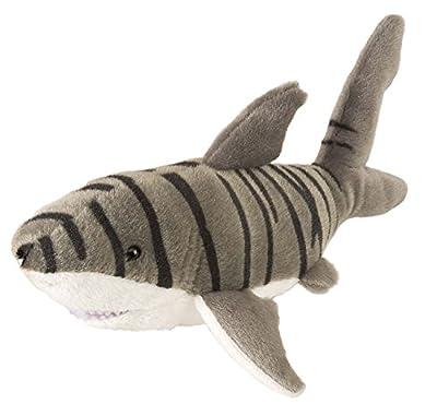 Wild Republic 20 cm Cuddlekins Mini Tiger Shark Plush Toy