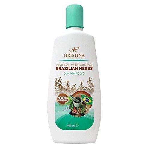 Hristina 100% Natürliches Feuchtigkeitsshampoo brasilianische Kräuter 400 ml (Natürliches 400 Ie)