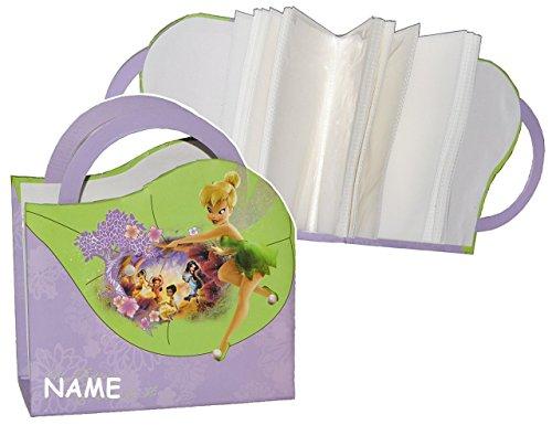 Tinkerbell Fairies groß - mit Name - für 100 Bilder 15 cm * 10,5 cm gebunden - Photoalbum Kinderalbum Fairy Mädchen ()