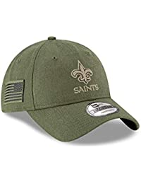 A NEW ERA ERA ERA Era Orleans Saints 9twenty Adjustable Cap On Field 2018 Salute To