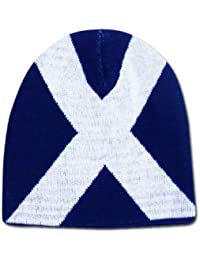 Scotland Saltire Beanie Hat