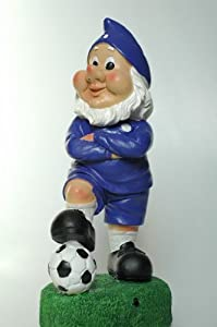 Oldham Athletic Colours TALKING Football Gnome Novelty Gift