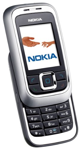 Nokia 6111 glossy black Handy