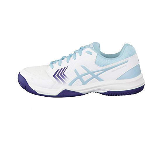 brand new e3e98 fb8d1 Asics Gel-Dedicate 5 Clay, Scarpe da Tennis Donna Multicolore  (White Porcelain ...