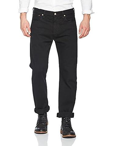 Levi's Herren Straight Leg Straight Jeans 501® LEVI'S® ORIGINAL FIT 501, Gr. W34/L34, Schwarz (80701 Black