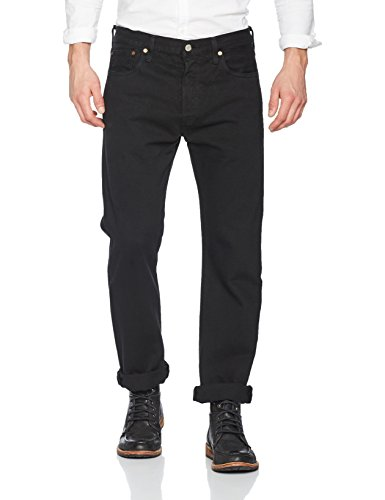 VI'S ORIGINAL FIT Straight Jeans, Schwarz (80701 Black 0165), W33/L34 ()