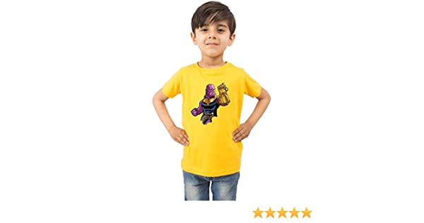 3ac06144756fc LIMIT Fashion Store - Thanos 3D Character Kids Colored T-Shirt (Boys/Girls):  Amazon.in: Clothing & Accessories