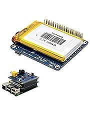 Electrodose Geekworm UPS HAT Board 2500mAh Lithium Battery for Raspberry Pi 3 Model