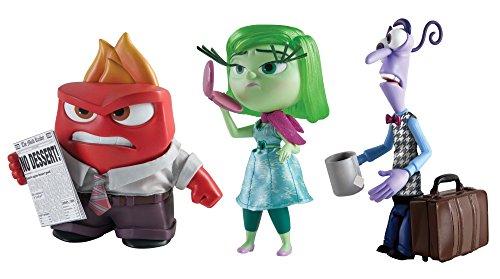 Tomy L61902 - Disney Pixar Alles steht Kopf - Große Angst, Wut und Ekel Figur sortiert