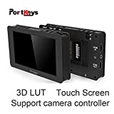 Best Monitor Canon 4K - Portkeys LH5T LH5S 12,7 cm touch screen monitor fotocamera Review