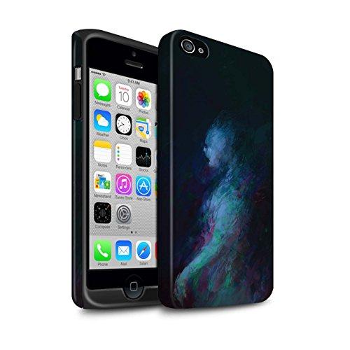 Offiziell Chris Cold Hülle / Matte Harten Stoßfest Case für Apple iPhone 4/4S / Pack 10pcs Muster / Dunkle Kunst Dämon Kollektion Geist/Ghul
