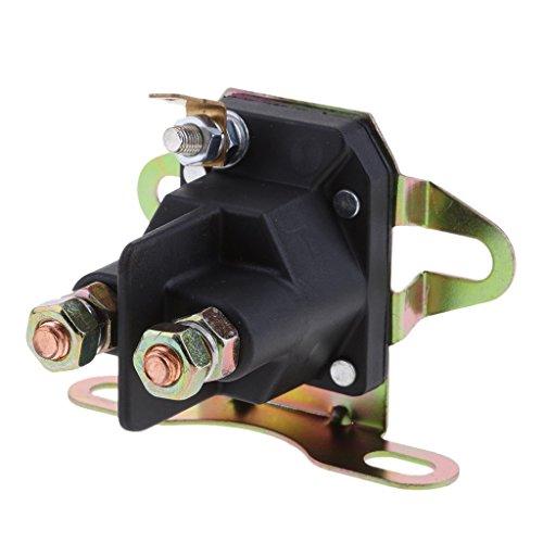 Tubayia Universal Rasenmäher Starter Anlasser Magnetschalter Magnetventil für Briggs & Stratton (Briggs Und Stratton Starter)