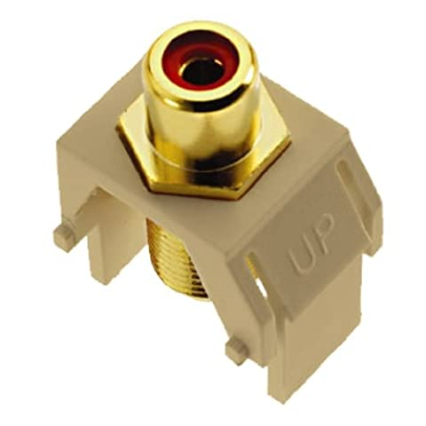 On-Q WP3462IV Red RCA to FConnector,