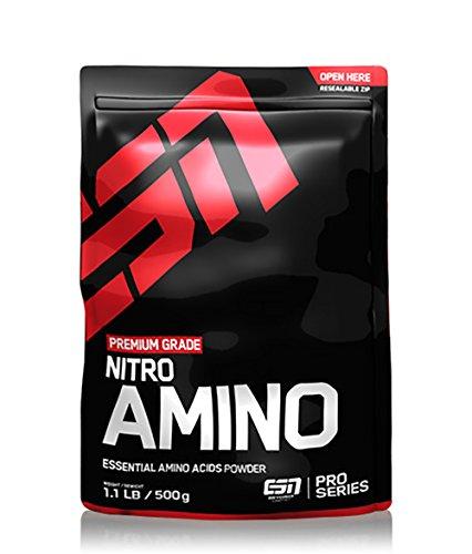 #ESN Nitro Amino, Pro Series, Blackberry, Beutel mit Dosierlöffel, 1er Pack (1 x 500g)#