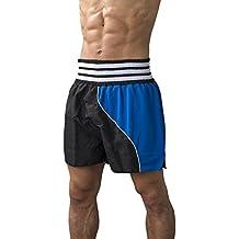 adidas Pantalón corto kick boxing Kickboxing Shorts, negro/gris XXS, adiSTH10