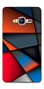 FROST IMAGES High Quality Silicon Printed Designer Back Cover for Samsung Z2 - Z200