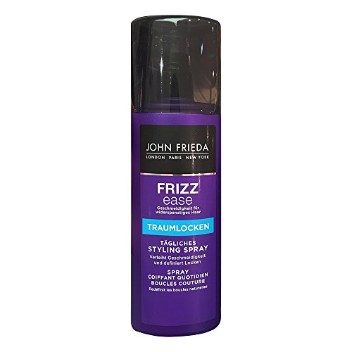 John Frieda Frizz Ease Traumlocken Tägliches Styling Spray 200 ml Styling Spray für natürliche Locken bei widerspenstigem Haar
