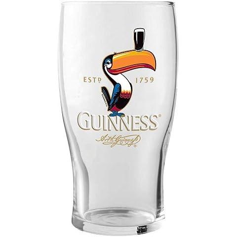 Guinness Bierglas Tucán