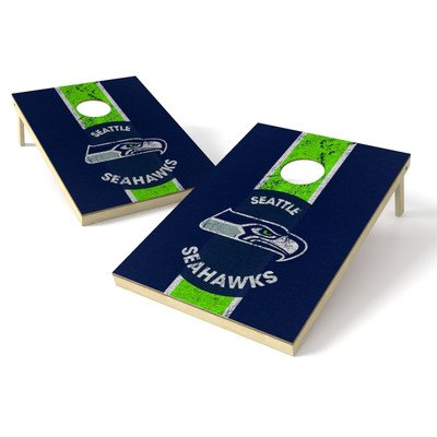 NFL Heritage Cornhole Game Set NFL Team: Seattle Seahawks