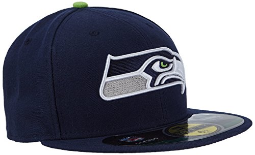new-era-seattle-seahawks-on-field-cap-59fifty-basic-fitted-basecap-herren-men