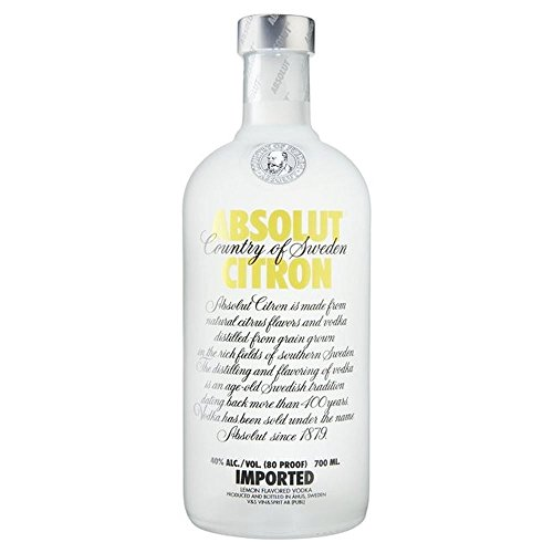 Absolut Citron Vodka (Packung mit 6)