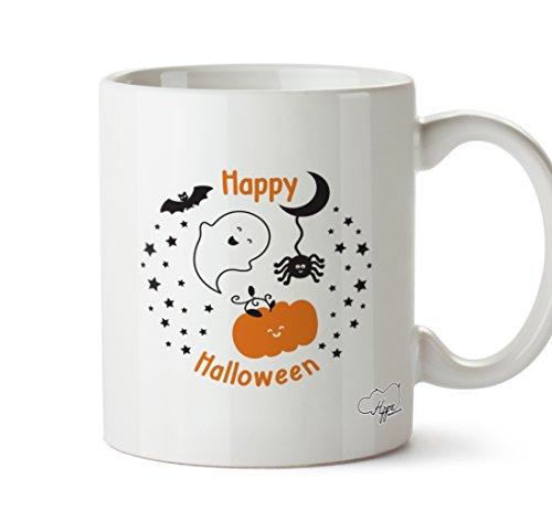 Halloween 283,5Tasse, keramik, weiß, One Size (10oz) (Goth-outfits Für Halloween)