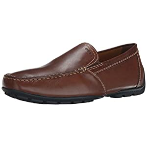 Geox U MONET ART.V - Smooth Leather Men Loafers, Brown (Coffee C6010), 10.5 UK (45 EU)