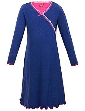 La-V Mädchen Nachthemd langarm r