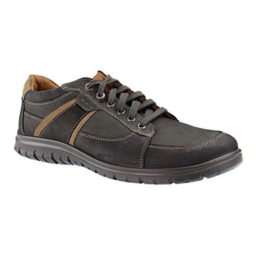 wholesale dealer 41494 7ec94 JOMOS 423402 Malaga Herren Halbschuhe Schwarz XXL Schuhe in ...