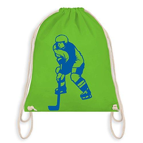 Eishockey - Eishockey - Unisize - Hellgrün - WM110 - Turnbeutel & Gym Bag
